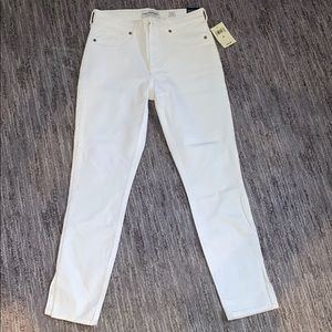 Lucky Brand White jeans.
